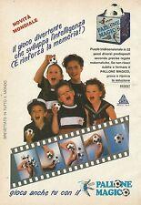 X7042 Gioca anche tu con il pallone magico - Pubblicità 1990 - Advertising