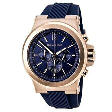 Michael Kors Men's MK8295 'Dylan' Rose Gold Tone Ion Plated Stainless Steel Watc