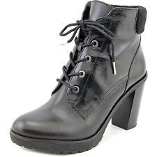 Michael Michael Kors Kim Lace Up Bootie Women US 7.5 Black NWOB  1143