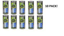 """Pig Mat 15"""" X 50' Universal Spill Oil Absorbent Shop Mat - Roll of 60 - 10 Pack"""