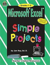 Microsoft Excel Simple Projects, Ray, Jan, New Book