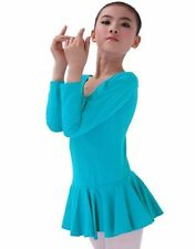 Baby Kids Girl Leotard Dress Ballet Dance Gymnastic Tutu Skirt Dancewear Clothes