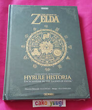 THE LEGEND OF ZELDA HYRULE HISTORIA VERSION 100% FRANCAISE COINS ABIMES