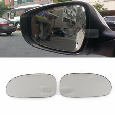 Rearview Blind Spot Curved Side Mirror Wide Glass for KIA 2006-2011 Rio Pride