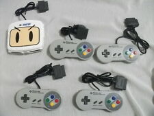 Hudson Super Famicom Super Bomberman Multi Tap w/4 controller SNES SFC Japan