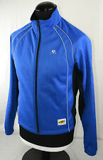 Go Sport Wind Tex Blue Windtex Long Sleeve Cycling Jacket M Jersey Shirt Top