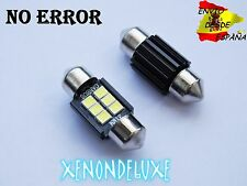 2X BOMBILLAS LED FESTOON 31MM 6000K C5W CANBUS BLANCO PURO ULTIMA GENERACION