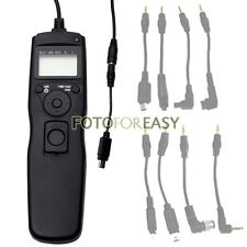 Timer Remote Shutter Cord Removable Cable for Nikon D7000 D5100 D5000 D90 D3100