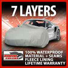 7 Layer Car Cover Indoor Outdoor Waterproof Breathable Layers Fleece Lining 7227