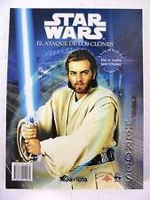 Star Wars,El Ataque de los Clones,Libro para Colorear,Ediciones Gaviota 2002