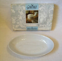 Royal Worcester Gourmet Oven China Oval Serving Dish - Oven to Tableware