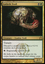 LOTLETH TROLL NM mtg Return to Ravnica Gold - Zombie Troll Rare