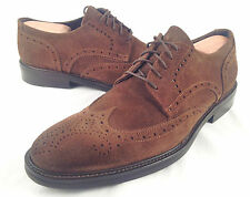 To Boot New York 'Carr' Wingtip' Suede Brown Size 9