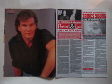 Patrick Swayze Lisa James Young Styx Tone Norum Prince Stryper clippings Sweden
