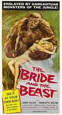 Bride And Beast Poster 02 Metal Sign A4 12x8 Aluminium