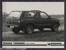 PRESS - FOTO/PHOTO/PICTURE - Nissan Terrano Turbo Diesel