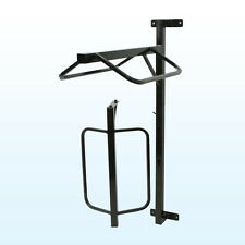 Wall Mounted Saddle Rack 2 Tier with Removable Racks