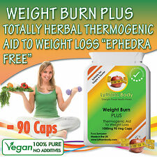 90 VEGAN EXTREME WEIGHT LOSS DIET MANAGEMENT BURN FAT THERMOGENIC SLIMMING PILLS