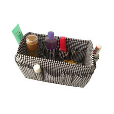 Black & White Makeup Cosmetic Home Storage Box Bag Organizer Foldable Container