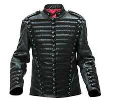Napoleonic Hussars Pelisse/tunic in leather - all black - made to order