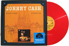 JOHNNY CASH LP in Prague LIVE RECORD STORE DAY 2015 Red Vinyl Ltd
