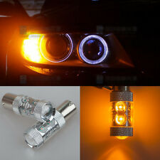 2x 1156 Bau15s 150° 7507 PY21W High Power CREE LED Turn Signal Light Bulb Amber