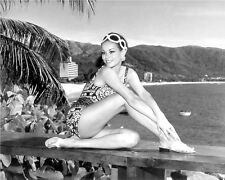 CLAUDINE AUGER 8 X 10 PHOTO GLOSSY #3