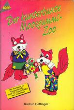 Bastelbuch FensterbilderDer kunterbunte Moosgummi Zoo