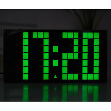 Digital Large Small Led Clock Table Desk Alarm Light Wall Decor Electrical Gift