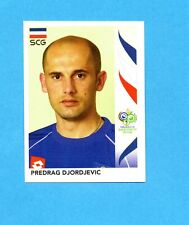 PANINI-GERMANY 2006-Figurina n.215- DJORDJEVIC - SERBIA -NEW BLACK