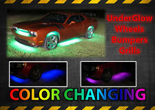 x8 Waterproof 18 Color LED Car Truck Underbody Glow Ground Effect Lighting Kit