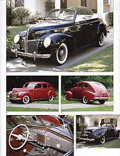 1939 Mercury + Convertible Article - Must See !!