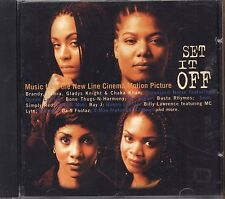 Set it off - QUEEN LATIFAH BRANDY BUSTA RHYMES - CD OST 1996 NEAR MINT CONDITION