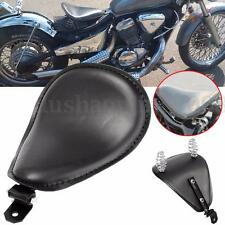 Cuir Solo Selle Seat Siège Ressorts Support Pour Harley Chopper Bobber Custom