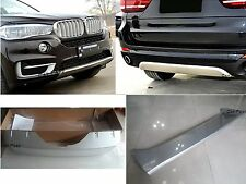Front&Rear bumper skid plate plastic bumper guard protector For BMW X5 F15 2015