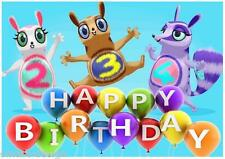 Personalised Cbeebies Numtums Laminated A4 Birthday or Bedroom Poster Room sign