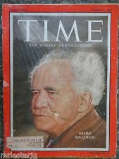 Time Magazine   March 11, 1957   Israel's Ben-Gurion  VINTAGE ADS