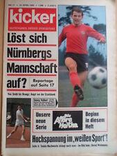 KICKER 17 - 22.4. 1968 G.Volkert Nürnberg-Duisburg 4:1 Galopp Davis-Cup Tennis