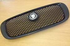 JAGUAR BRAND NEW XF ALL BLACK GRILLE WITH BADGE