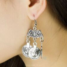 Fashion Punk Retro Pendants Dangling Shinning Hook Temperament Earrings
