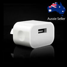 Genuine Apple iPhone AC Wall Charger 7 Plus 6 Plus 5S 5C 5 4S Samsung AU Plug