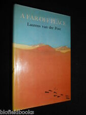 LAURENS VAN DER POST: A Far Off Place - 1974-1st Ed - Africa Set Novel - HB/DJ