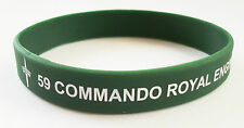 59 COMMANDO ROYAL ENGINEERS SILICONE WRISTBAND