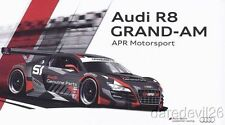 2013 APR Motorsport #51 Audi R8 GT Rolex 24 Grand Am postcard