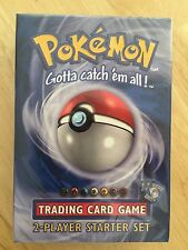 POKEMON BASE 2 PLAYER STARTER SET DECK FACTORY SEALED