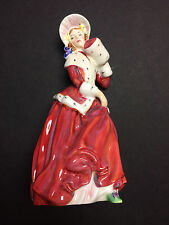 """Royal Doulton"" Lady Figurine 'Christmas Morn' Bone China HN1992 - Used"