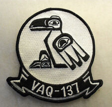 "70/80'S USN VAQ-137 EMBROIDERED MERROWED EDGE 5"" TALL"