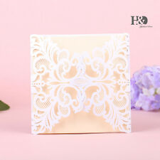70pcs Invitations With Envelopes Wedding Engagement Gatefold Invite Pearl Paper