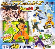 Bandai Dragon ball Z Dragonball HG Plus Action Pose Gashapon Figure Set of 6