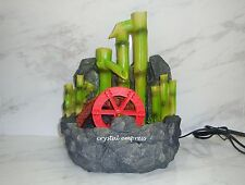 Feng Shui - 2017 Bamboo Water Wheel Fountain for Future Prosperity